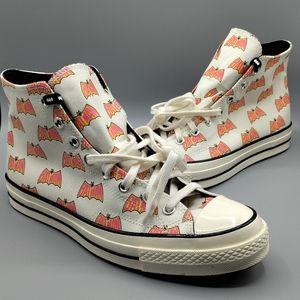 NEW Mens Converse Chuck 70 Hi Batman Sneaker Shoes